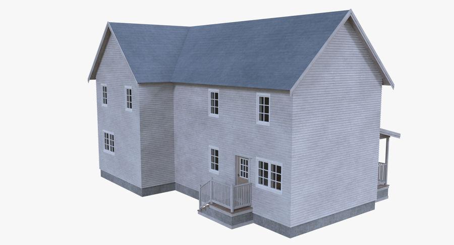 인테리어가 가득한 하우스 3 royalty-free 3d model - Preview no. 4