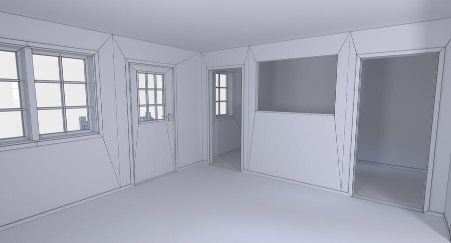 인테리어가 가득한 하우스 3 royalty-free 3d model - Preview no. 23
