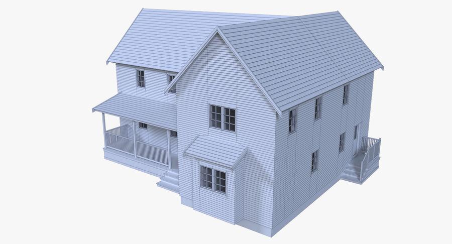 인테리어가 가득한 하우스 3 royalty-free 3d model - Preview no. 15