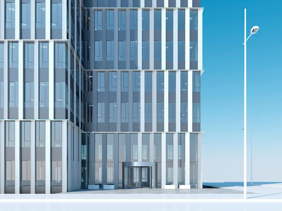 Skyscraper 012 royalty-free 3d model - Preview no. 9