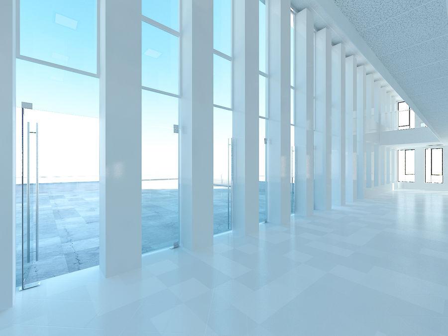 Skyscraper 012 royalty-free 3d model - Preview no. 20