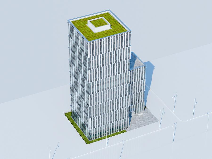 Skyscraper 012 royalty-free 3d model - Preview no. 4