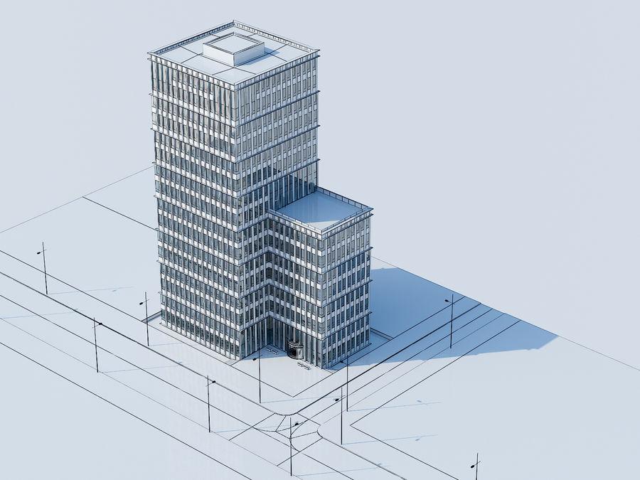 Skyscraper 012 royalty-free 3d model - Preview no. 22