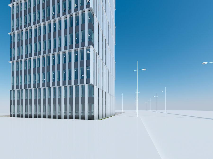 Skyscraper 012 royalty-free 3d model - Preview no. 13