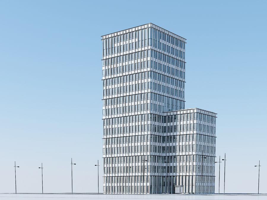 Skyscraper 012 royalty-free 3d model - Preview no. 26