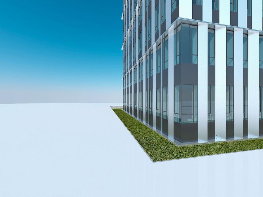 Skyscraper 012 royalty-free 3d model - Preview no. 14