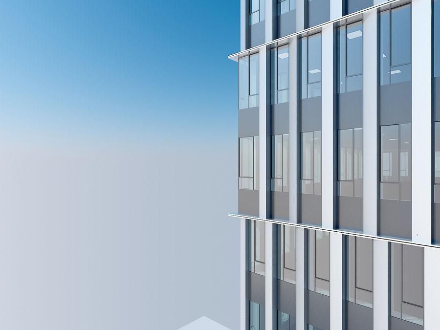 Skyscraper 012 royalty-free 3d model - Preview no. 15