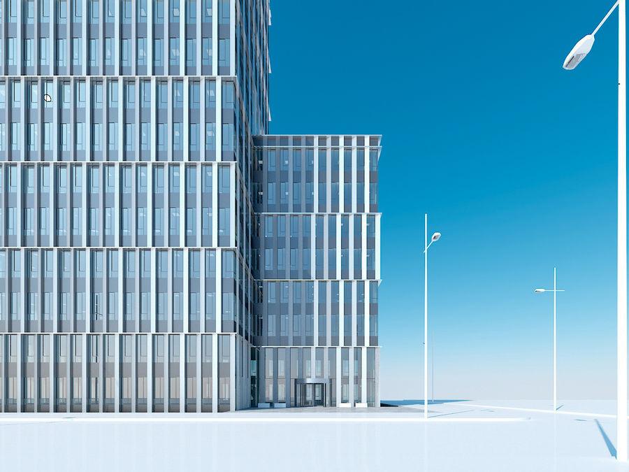 Skyscraper 012 royalty-free 3d model - Preview no. 8