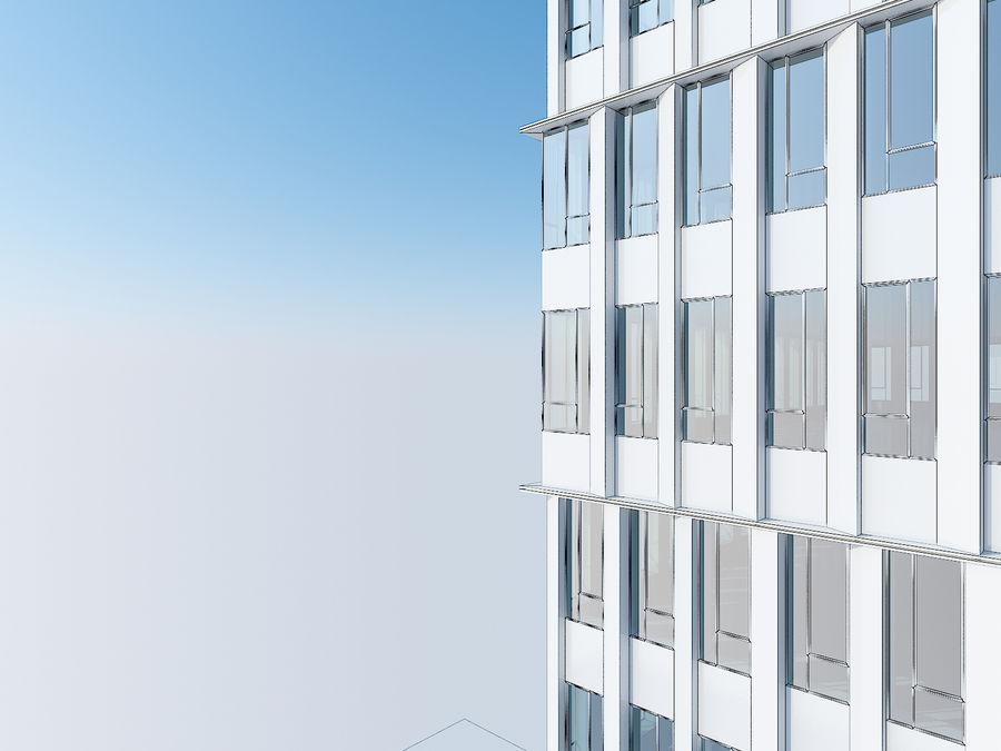 Skyscraper 012 royalty-free 3d model - Preview no. 23