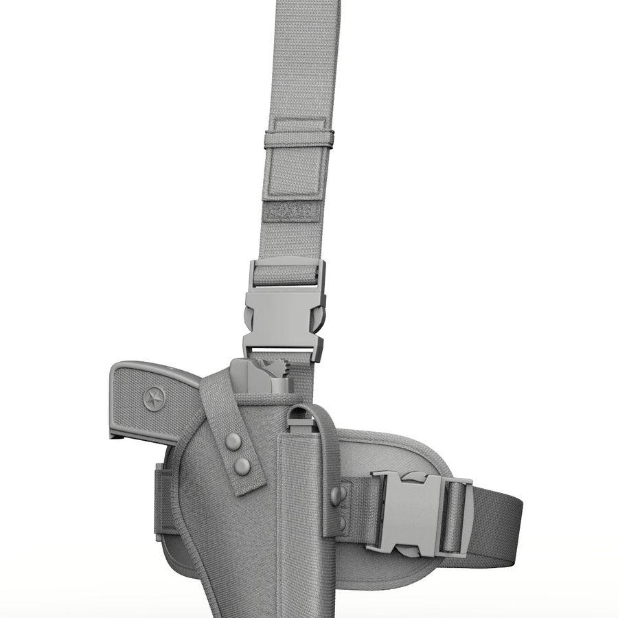 Fondina royalty-free 3d model - Preview no. 1