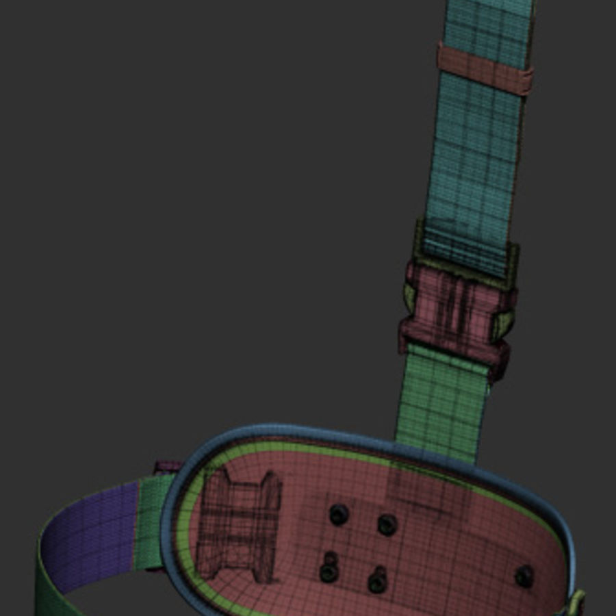Holster royalty-free 3d model - Preview no. 38