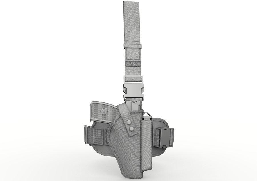 Fondina royalty-free 3d model - Preview no. 9