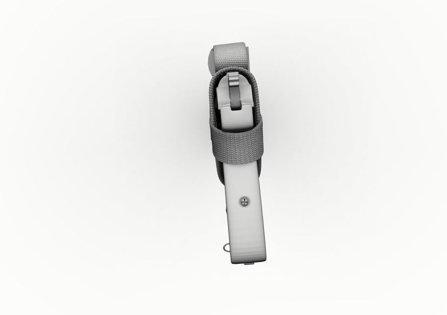 Holster royalty-free 3d model - Preview no. 32