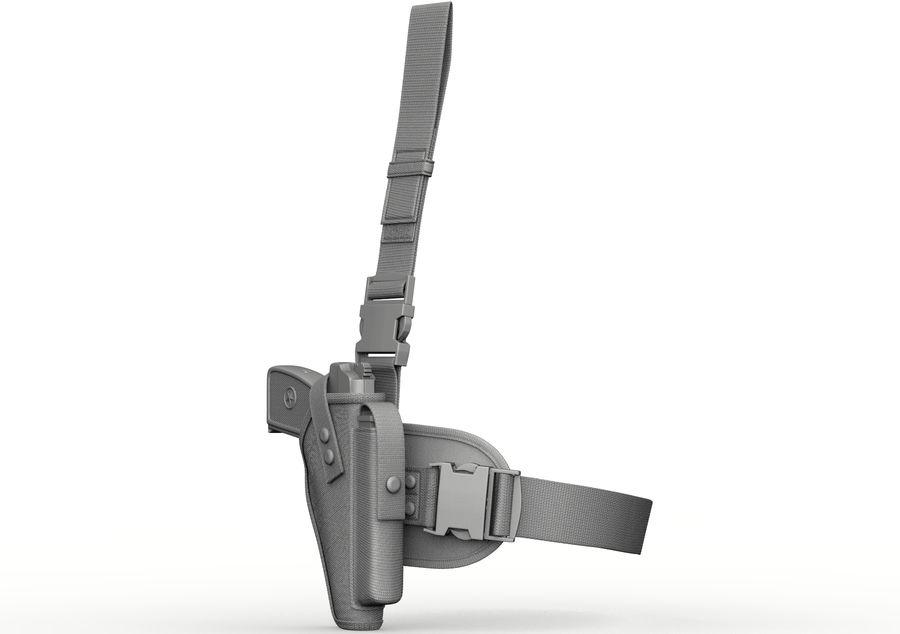 Fondina royalty-free 3d model - Preview no. 4