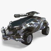 Véhicule futuriste 3d model