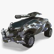 Futuristic Vehicle 3d model