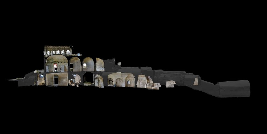 Ancient Ruins #4 royalty-free 3d model - Preview no. 8