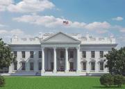 白色的房子 3d model