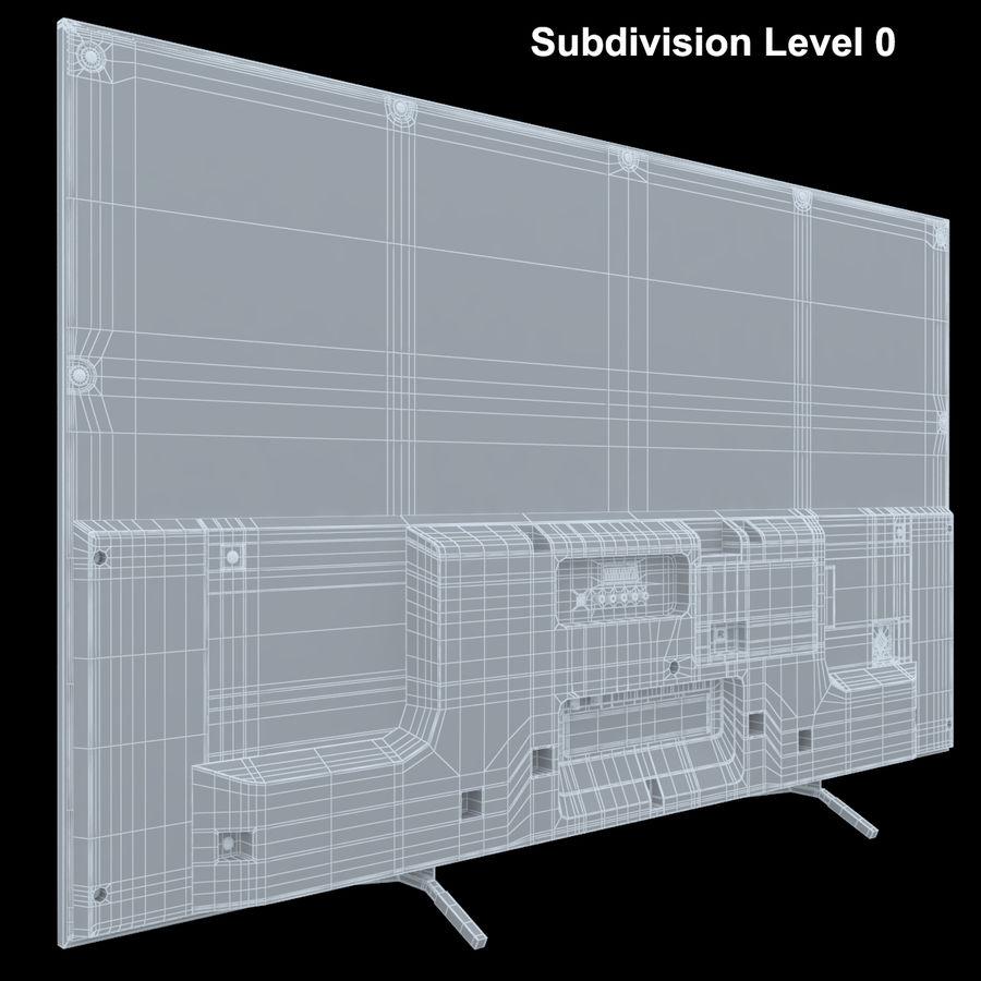 Sony Bravia KDL - 50W805C royalty-free 3d model - Preview no. 13