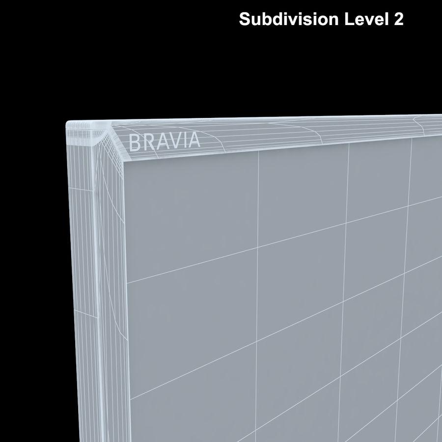 Sony Bravia KDL - 50W805C royalty-free 3d model - Preview no. 22