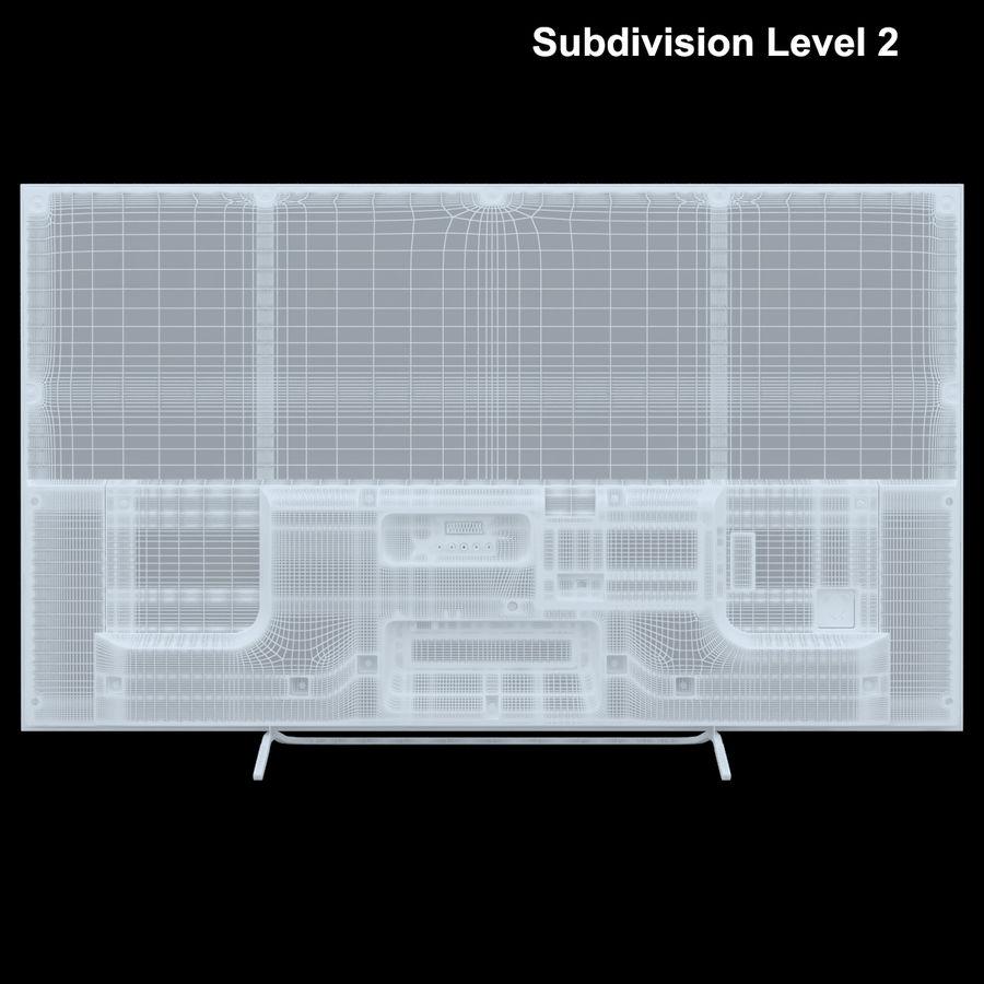 Sony Bravia KDL - 50W805C royalty-free 3d model - Preview no. 26
