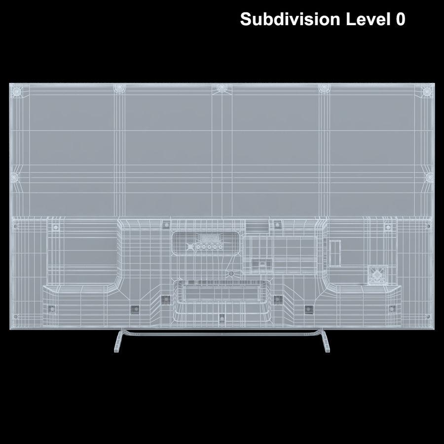 Sony Bravia KDL - 50W805C royalty-free 3d model - Preview no. 25