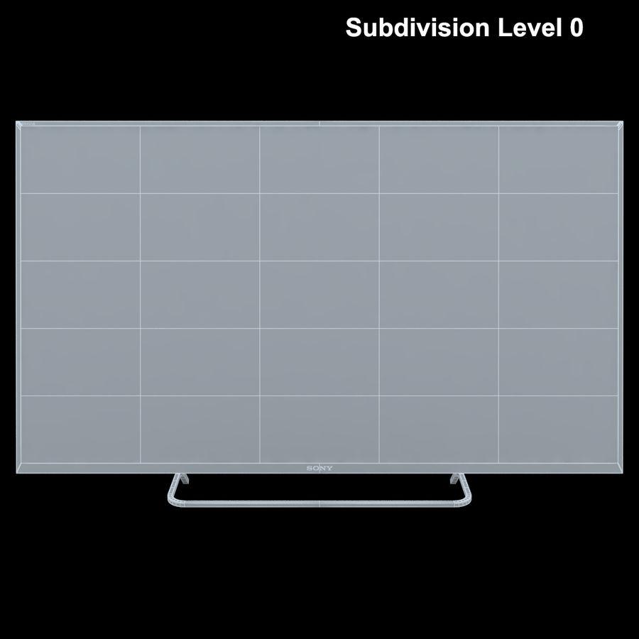 Sony Bravia KDL - 50W805C royalty-free 3d model - Preview no. 23