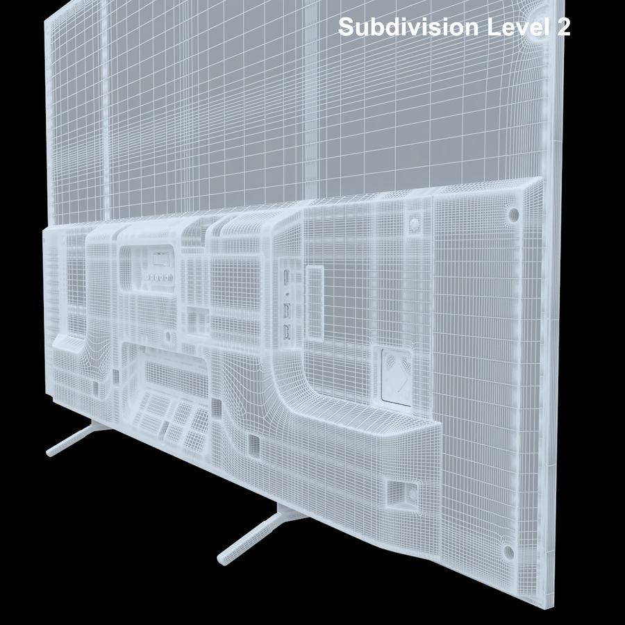 Sony Bravia KDL - 50W805C royalty-free 3d model - Preview no. 16
