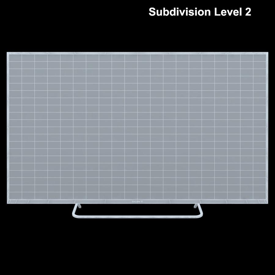 Sony Bravia KDL - 50W805C royalty-free 3d model - Preview no. 24
