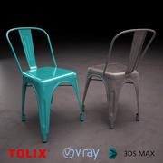 Tolix 의자 3d model