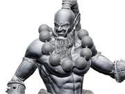 Blade Master 3d model
