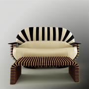 沙发沙发 3d model