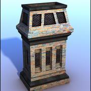 Brick Chimney V4 3d model