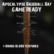 黙示録野球バット 3d model