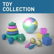 Коллекция игрушек 3d model