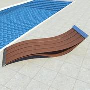 日光浴床 3d model