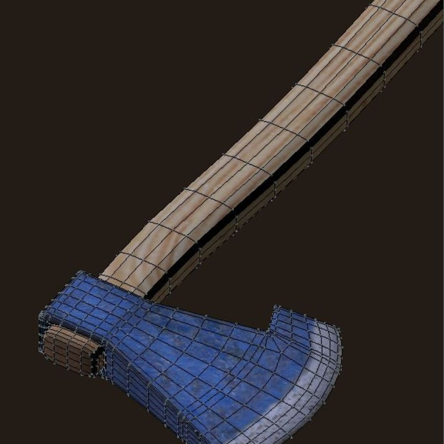 Axe royalty-free 3d model - Preview no. 5