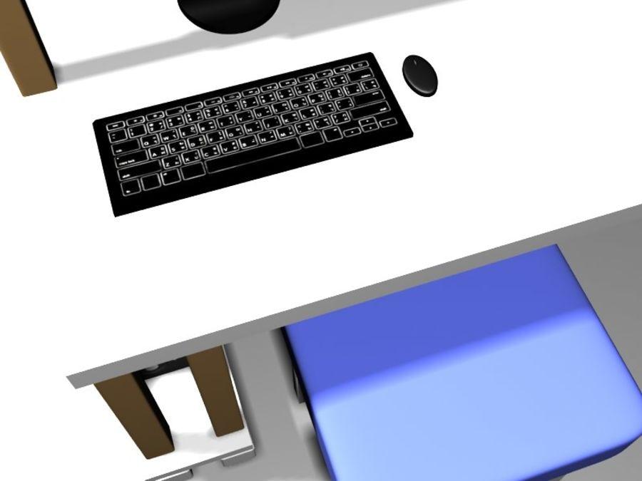 데스크탑 테이블 royalty-free 3d model - Preview no. 5