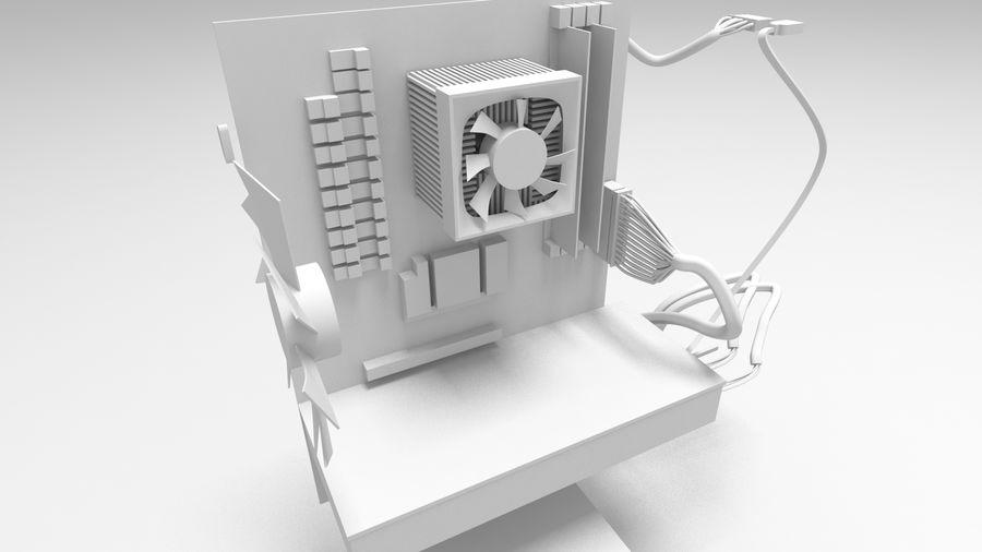 Raidmax Super Viper royalty-free 3d model - Preview no. 6