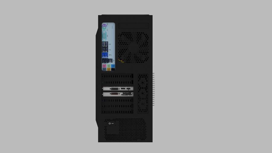 Raidmax Super Viper royalty-free 3d model - Preview no. 2