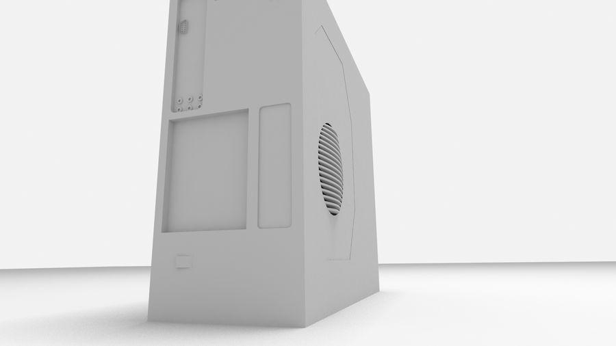 Raidmax Super Viper royalty-free 3d model - Preview no. 8