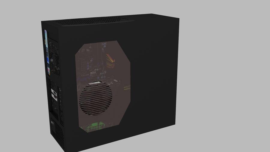 Raidmax Super Viper royalty-free 3d model - Preview no. 3