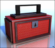 Toolbox Cartoon 3d model