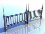 Metal Fence 3d model