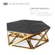 Stolik kawowy Eichholtz Galaxy zestaw 6 3d model