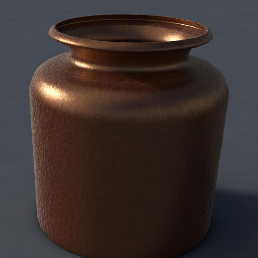 Bronze vessel royalty-free 3d model - Preview no. 1