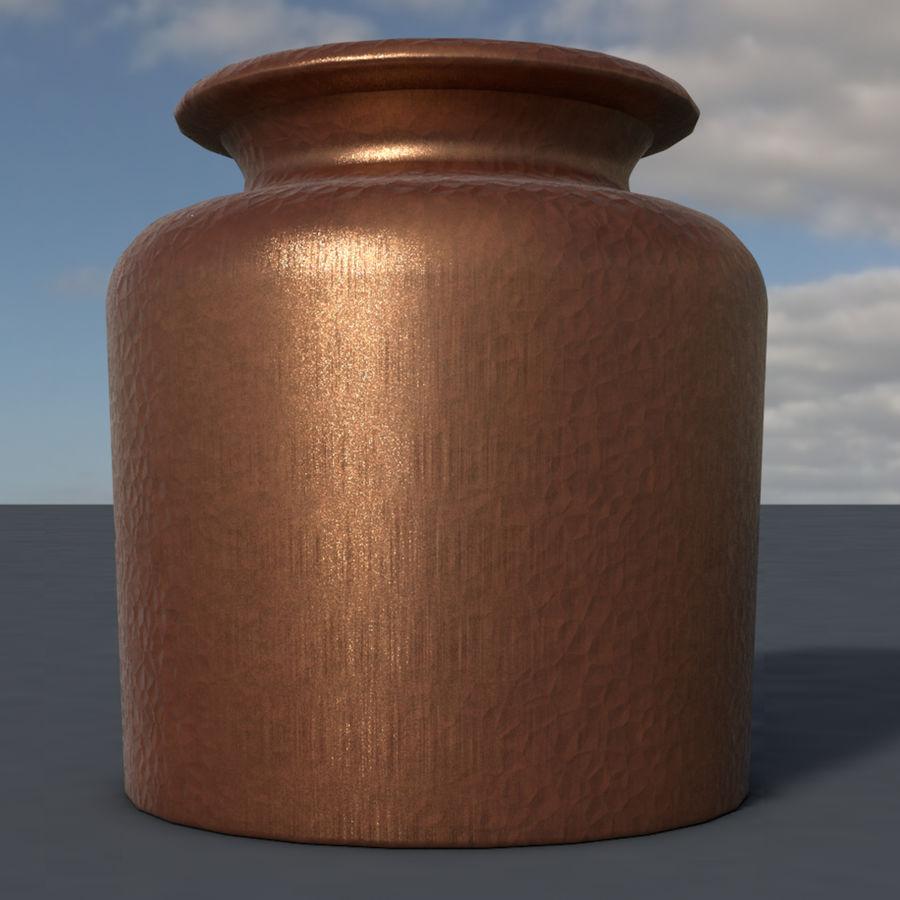 Bronze vessel royalty-free 3d model - Preview no. 2