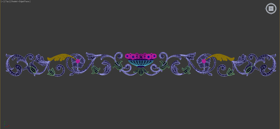Decoration royalty-free 3d model - Preview no. 7