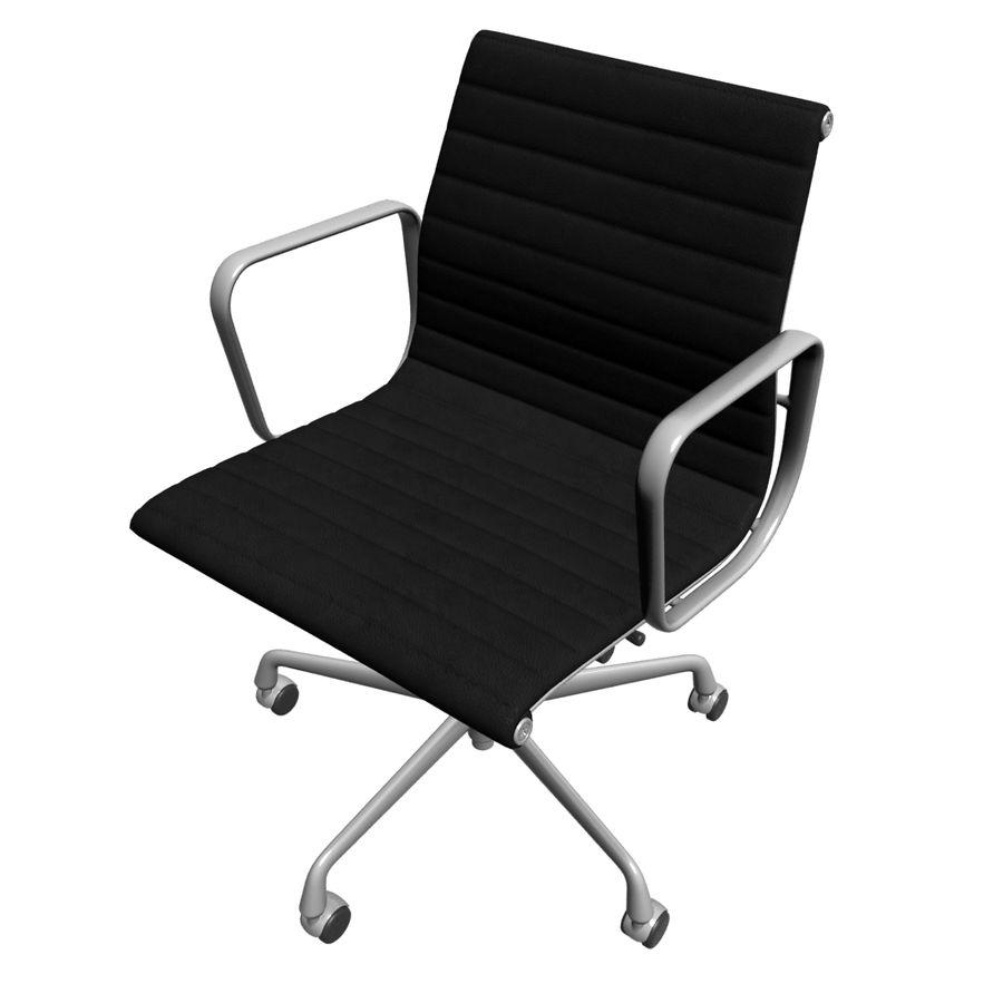 办公椅1 royalty-free 3d model - Preview no. 1