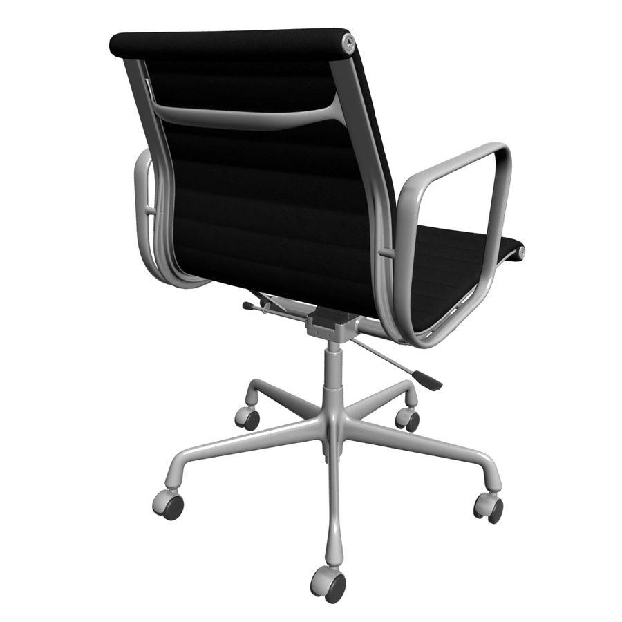 办公椅1 royalty-free 3d model - Preview no. 2